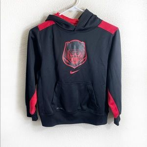 Nike dri fit hoodie pullover youth
